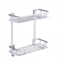 浴室/廚房置物架 免釘牆壁 不會破壞牆壁 耐重100公斤 三角/方型 無痕黏膠、防水、耐重、不生鏽