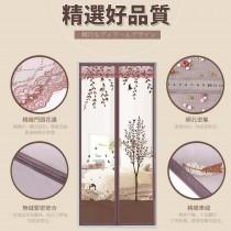 [魔鬼氈]防蚊門簾 不會破壞門框 靜音無磁扣 寬90高210 3分鐘快速安裝 現貨 SGS認證 防蚊 防蟲