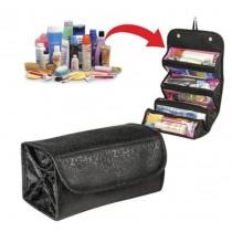 折疊化妝包 旅行 收納包,透明分層、好拿取