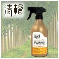 清檜天然防蟑螂螞蟻噴劑一瓶500ml